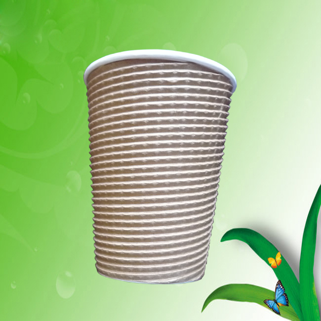 RBCP-04        Kraft paper corrugated cup